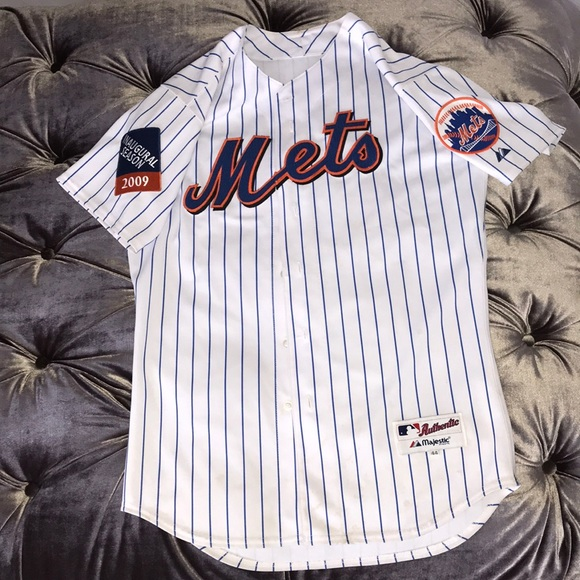 the best attitude a0bcf 3bf11 AUTHENTIC METS JERSEY